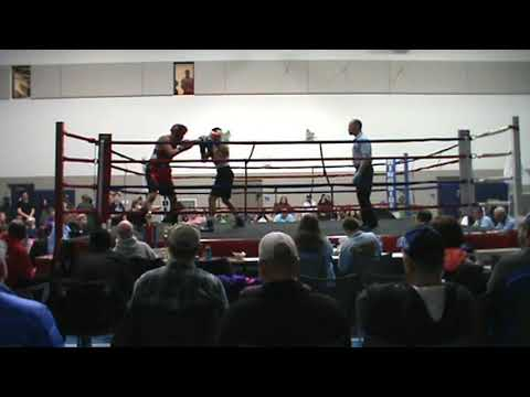Mohammed Makhlouf (Power Boxing) Vs Andreas Cardona (Moorehead) 165 Lbs