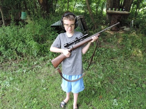 July 4th Father And Son Plinking  -  American Family Tradition