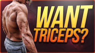 QUICK INTENSE TRICEPS WORKOUT - FOLLOW ALONG FOR BIG TRICEPS