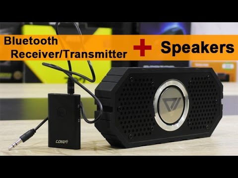 How to use Bluetooth Receiver/Transmitter with Speakers