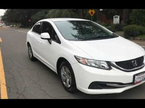 2013 Honda Civic LX for sale in LOS ANGELES, CA