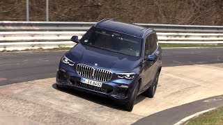 2019 BMW X5 xDrive45e - SOUNDS On The Nurburgring!