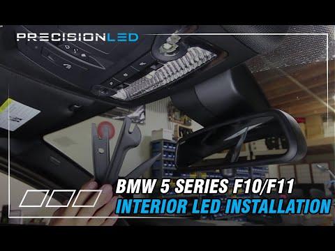 BMW 5 Series F10/F11 LED Interior Lights Install - 6th Generation -2010 - Present