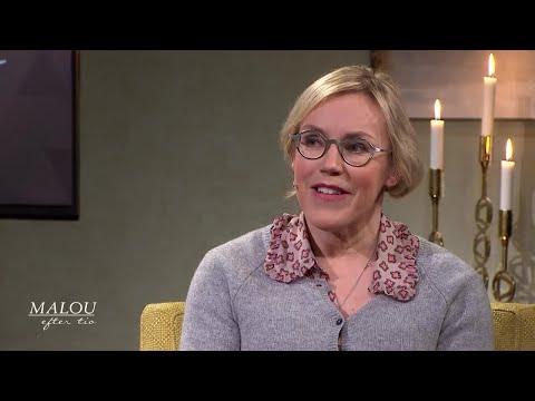 Åsa larsson skriver dramatiskt om gudstro och nordisk folktro - Malou Efter tio (TV4)