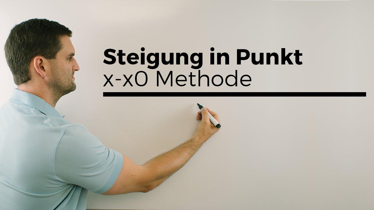 steigung in einem punkt x xo methode polynomdivision mathe by daniel jung youtube. Black Bedroom Furniture Sets. Home Design Ideas