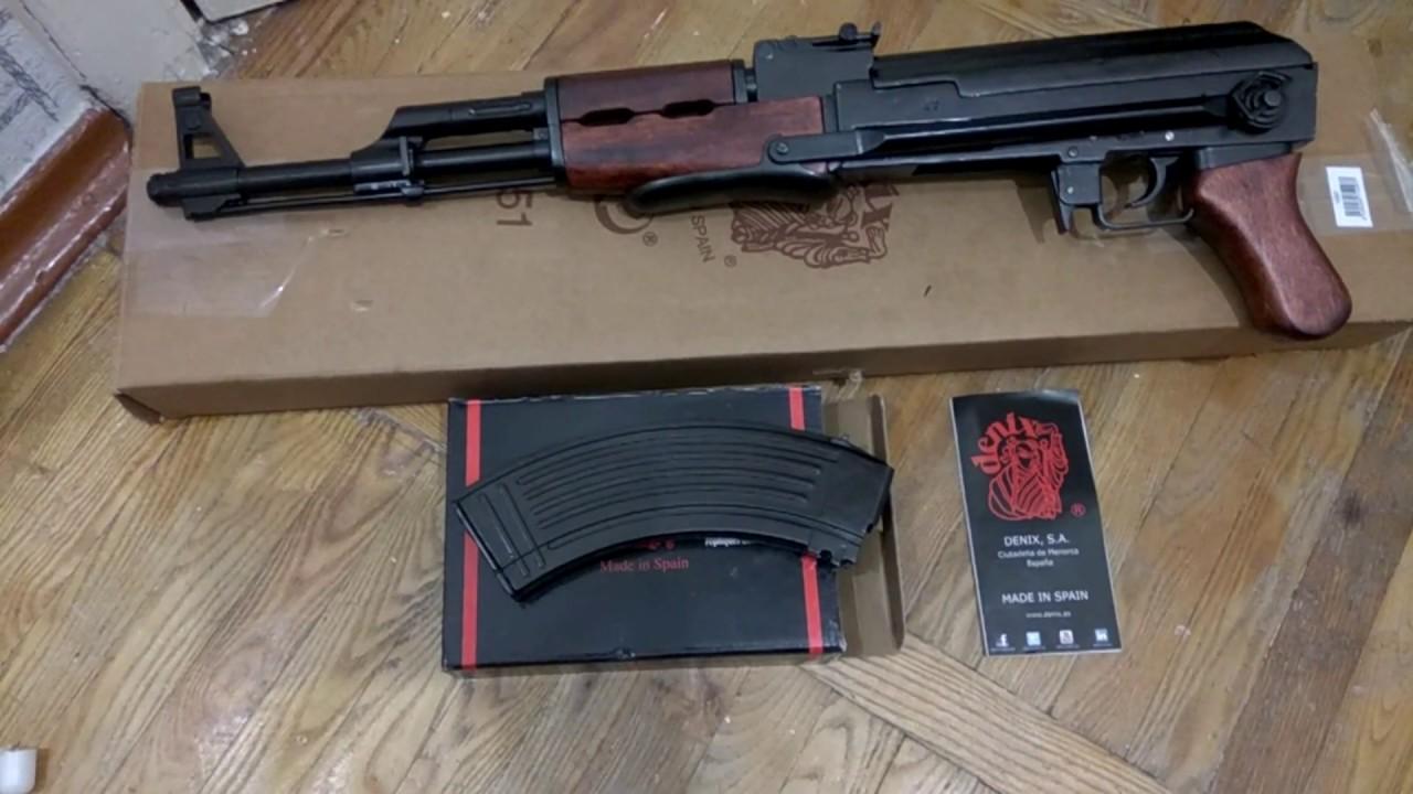 Макеты, копии оружия ммг (массо-габаритные), сувенирное и подарочное. Купить в 1 клик. Ммг автомат калашникова ак-105, складной приклад.