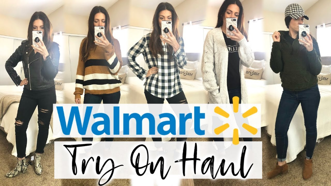 [VIDEO] - HUGE WALMART FALL TRY ON CLOTHING HAUL 2019 | AFFORDABLE FALL FASHION IDEAS 5