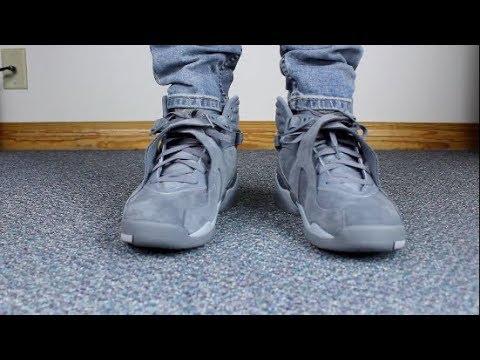 JORDAN 8 COOL GREY ON FEET! - YouTube - 36.8KB
