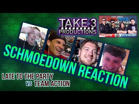 Take 3 Schmoedown Reaction - Late to the Party vs Team Action