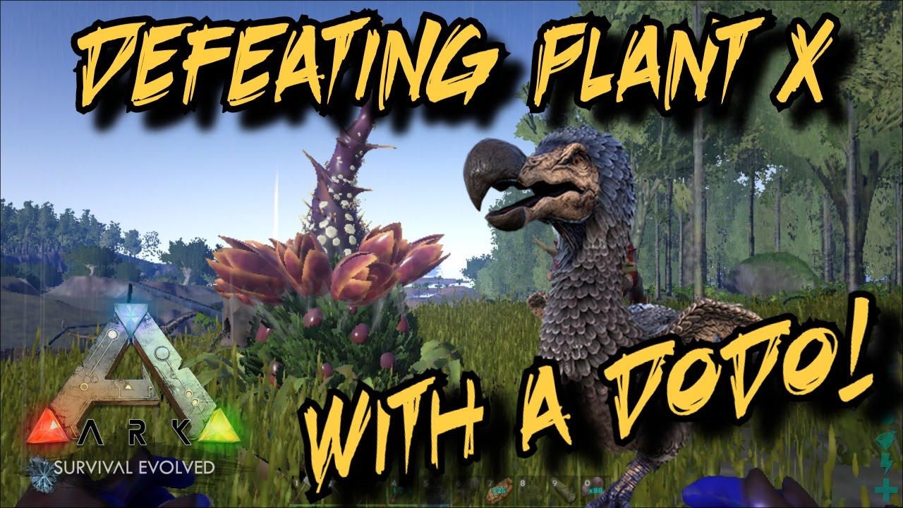 Defeating plant species x with a dodo ark survival for Plant x ark aberration