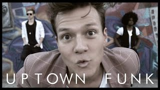 Uptown Funk ft. Bruno Mars - Tyler Ward & Two Worlds (Acoustic Cover) -