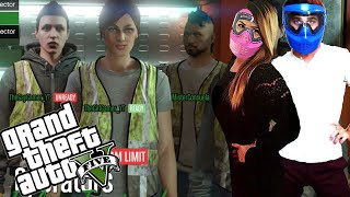 WHITE TRASH PARTY | Grand Theft Auto 5 Funny Moments | Heist GTA 5 Online