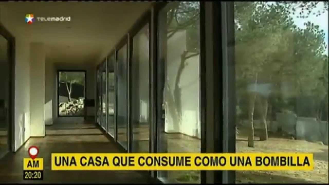 La casa de madera m s grande de espa a 100x100 madera - Casas de madera en espana ...