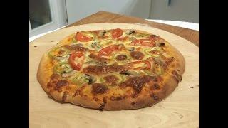 Kendi Pizza'nızı Kendiniz Yapmaya Ne Dersiniz? (Mayasız Hamur)
