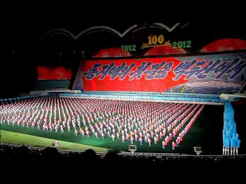 NORTH KOREA: Arirang Mass Games, Pyongyang