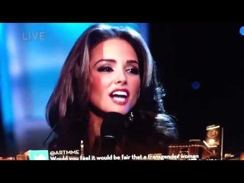 Miss Rhode Island answer at Miss USA 2011