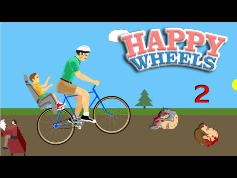 [EP.2]Happy Wheels | อย่าร้องลูก พ่อมาช่วยแล้ว  zbing z.