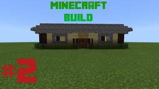 RUMAH COCOK BUAT SURVIVAL - MCPE BUILD #2