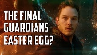 Is This the Final Guardians of the Galaxy Easter Egg?