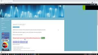 MOSS - Download e Utilização