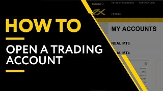 How To Open A Trading Account In A Few Easy Steps | Exness