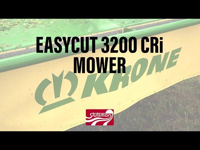 Eldon C Stutsman Inc Krone EasyCut Mower