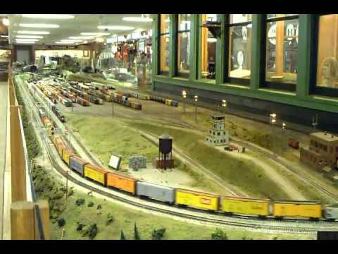 Medina Railroad Museum HO Layout