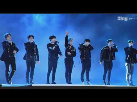 [Live] 170107 GOT7 @ Zing Music Space 2016 in Vietnam