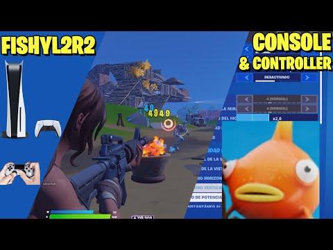 FishyL2R2 Settings Console (PS5) & Controller Fortnite