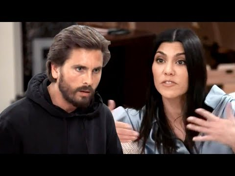 Kourtney Kardashian Is Furious With Scott Disick After ducing Sofia Richie to Their Kids