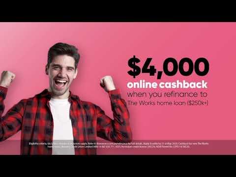 Illawarra Credit Union - Cashback offer TVC