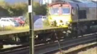 Peterborough Station 30/10/2007 Part 1