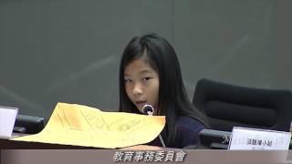 陳禹齡同學:想問局長;點解國際學校做到傳统學校做唔到?