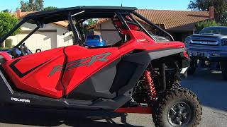 RZR Pro Ultimate with Gibson Exhaust and Aftermarket Assasins Diverter Valve