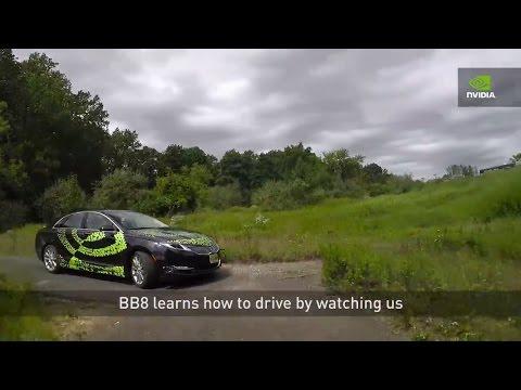 "Nvidia BB8 - Demonstration of NVIDIA AI Car ""BB8"""