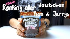 ♥︎ MEIN Ben & Jerrys Ranking ALLER deutschen Sorten - Januar 2018 ! TOP 26