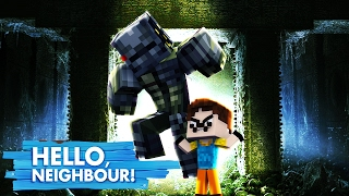 Minecraft Baby Hello Neighbour - THE NEIGHBOUR TAKES OVER THE WORLD!?