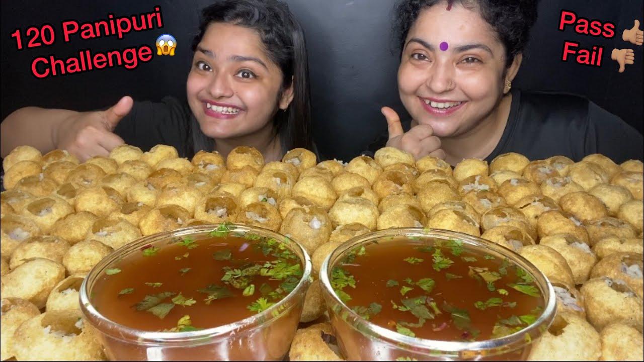 120 PANIPURI EATING CHALLENGE 😱 GOLGAPPA EATING CHALLENGE | PHUCHKA EATING CHALLENGE|FOOD CHALLENGE