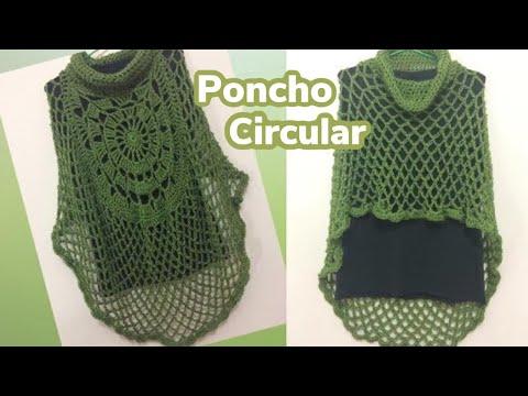 Poncho circular