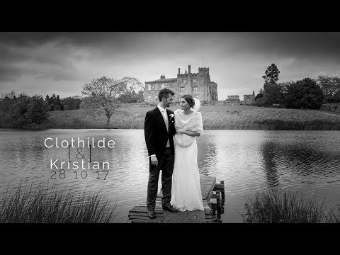 Harrogate Wedding Videographer, Ripley Castle Clothilde and Kristian