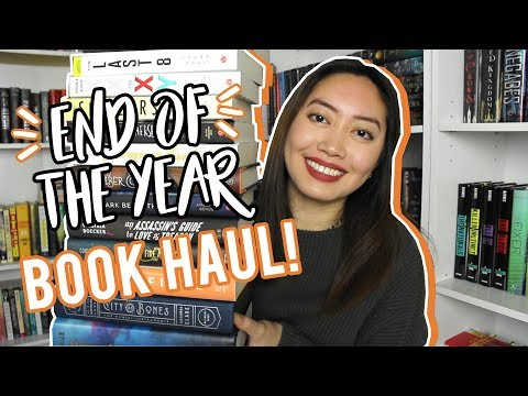 END OF THE YEAR BOOK HAUL!