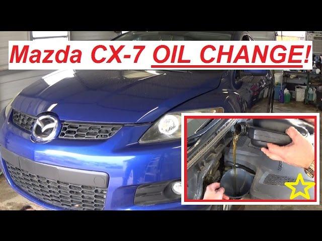 Mazda Cx7 Oil Change How To Change Oil On Mazda Cx 7 2 3