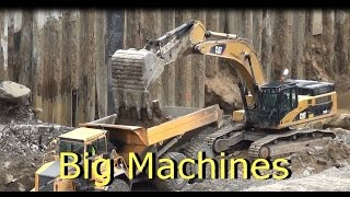 CAT shovel and Big machines at work