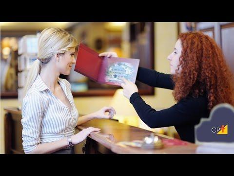 Clique e veja o vídeo  Procedimentos de recepção - Curso Treinamento em Reservas e Recepção
