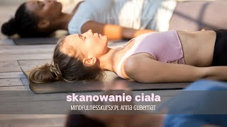 Medytacja mindfulness skanowanie ciała / bodyscan