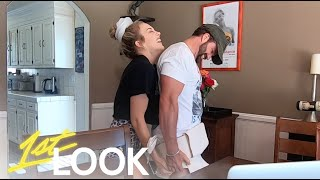 Johnny Bananas and Morgan Willett React to His Debut as a Sumo Wrestler | 1st Look TV