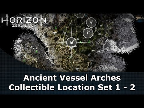 Horizon Zero Dawn Ancient Vessel Arches Collectible Location Set 1 - 2
