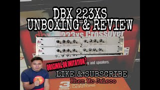 DBX 223XS ( Unboxing&Review ) VLOG.