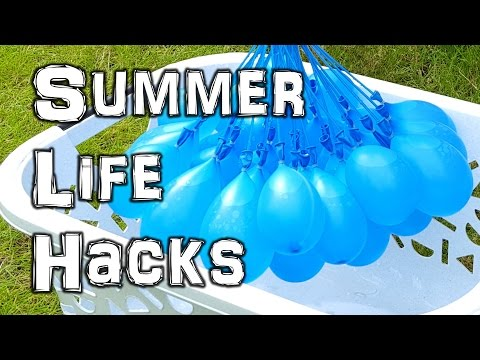Thumbnail: The Ultimate Summer Life Hacks Video
