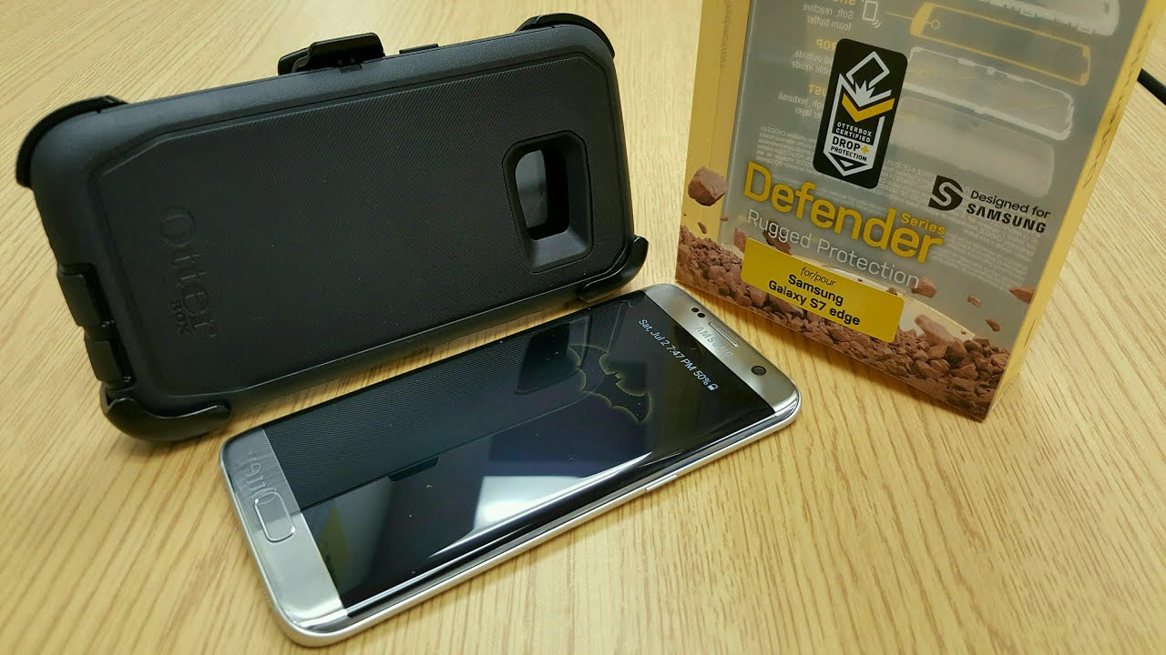 new styles 30b45 af51f OtterBox Defender for Samsung Galaxy S7 Edge - Hands-On (Review)